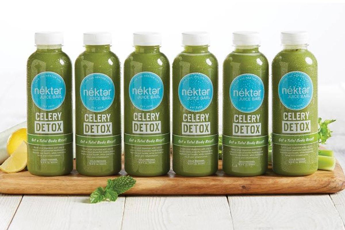 6 DAY CELERY DETOX CLEANSE